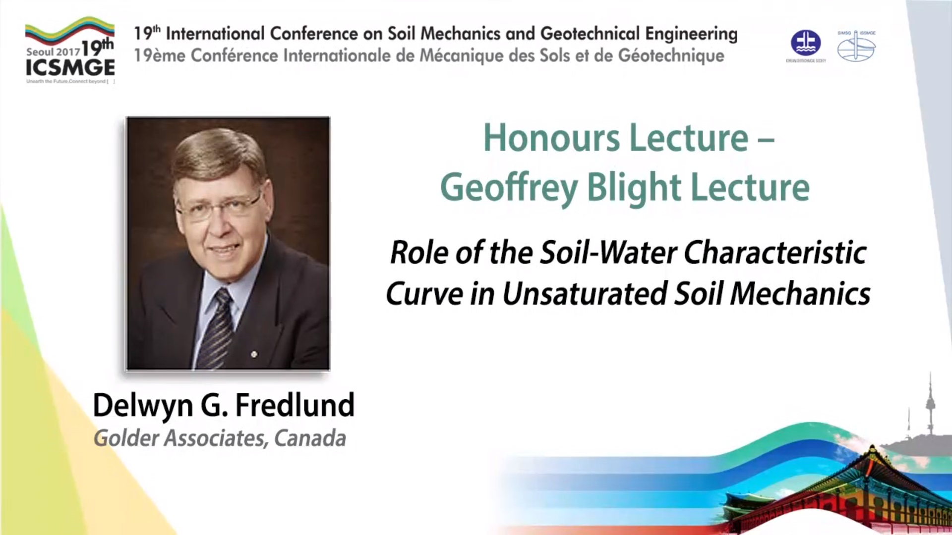 "Role of the Soil-Water Characteristic Curve in Unsaturated Soil Mechanics (Geoffrey Blight Lecture - 19th ICSMGE) {""category"":""honour_lecture"",""subjects"":[""Soil Mechanics""],""number"":""ICSMGE19106"",""instructors"":[""Delwyn G. Fredlund""]}"